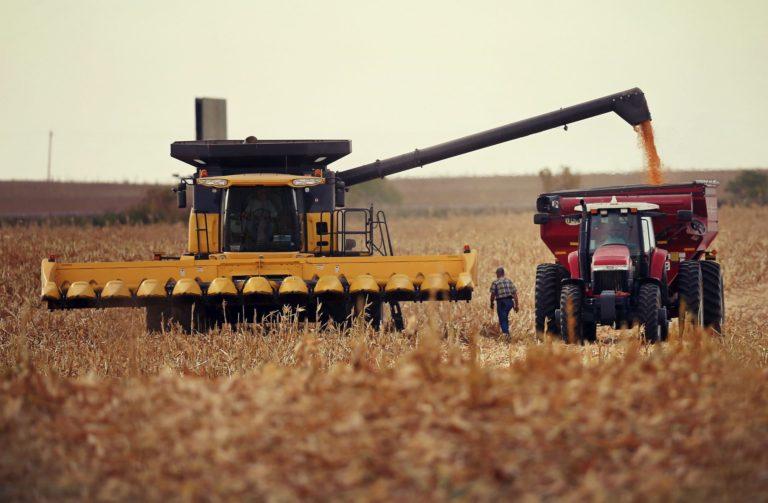 Producția agricolă a României a fost în 2016 de 15,4 mld. euro, 4% din producția totală a UE